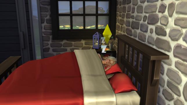 Mikaela Sleeping